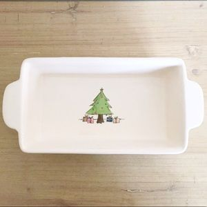 Rae Dunn Christmas Tree Loaf Pan Baking Dish